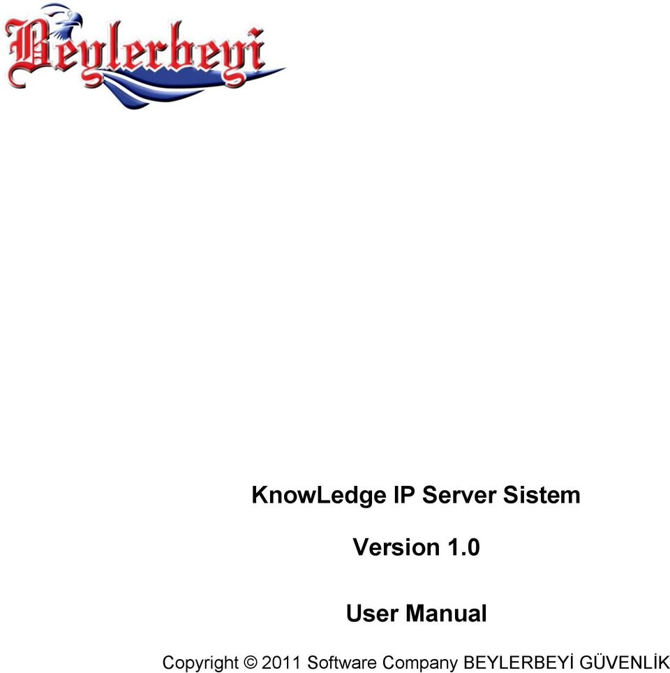 0 User Manual Copyright