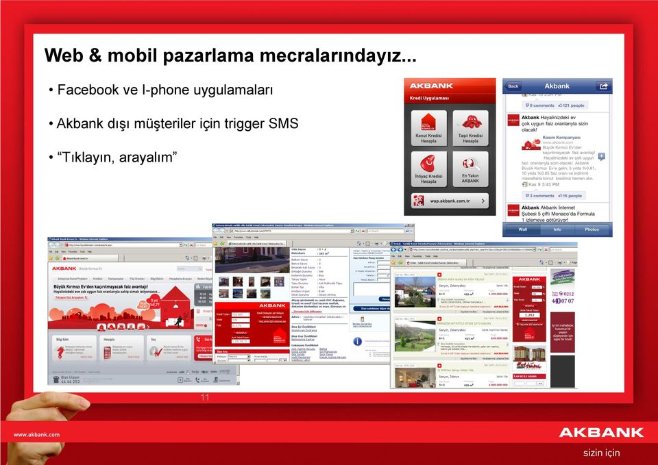 .. Facebook ve I-phone