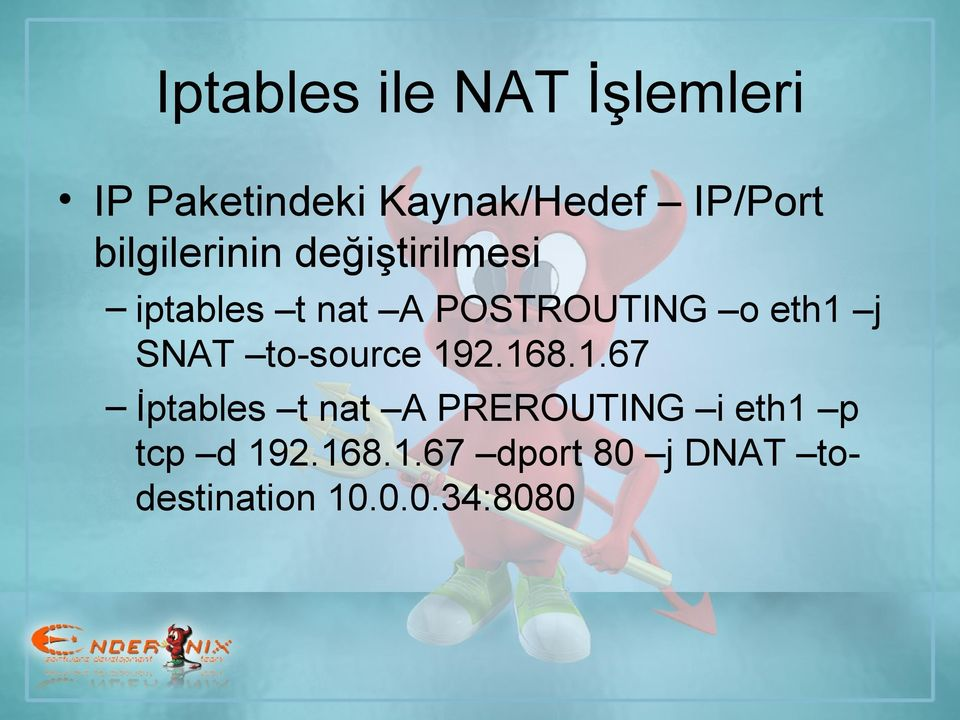 j SNAT to-source 19