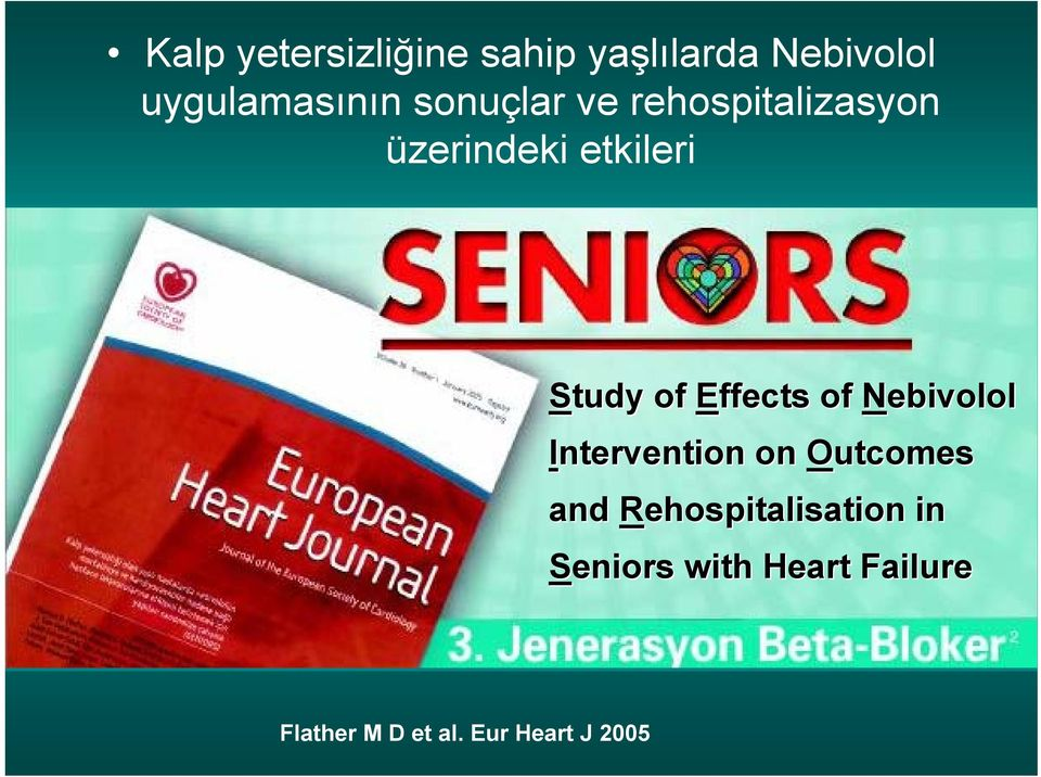 Effects of Nebivolol Intervention on Outcomes and