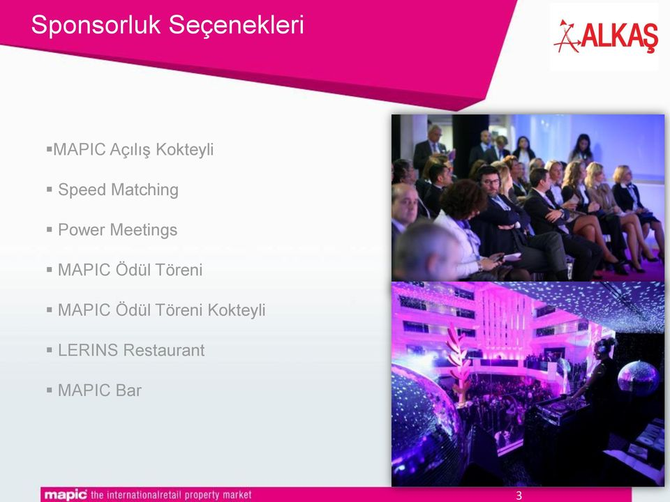 Meetings MAPIC Ödül Töreni MAPIC Ödül
