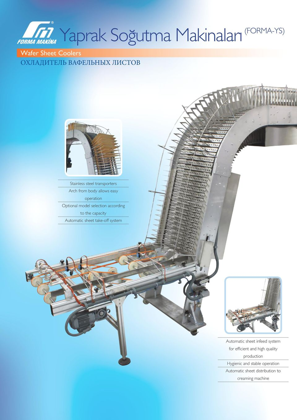 the capacity Automatic sheet take-off system Automatic sheet infeed system for efficient and