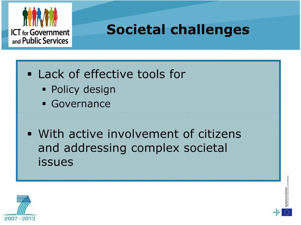 Governance With active involvement