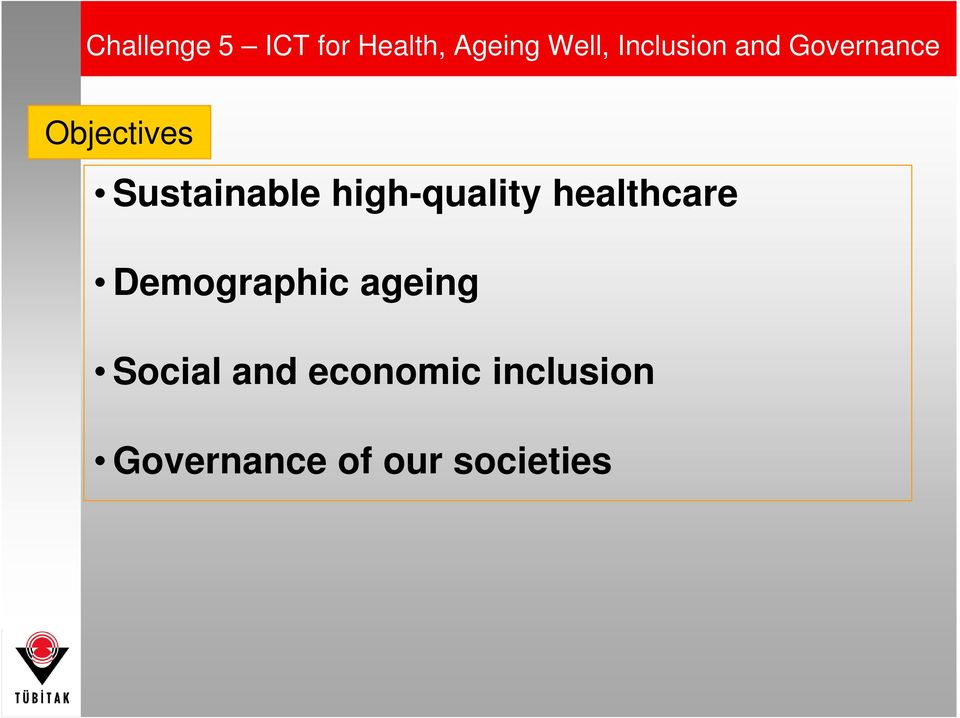 high-quality healthcare Demographic ageing