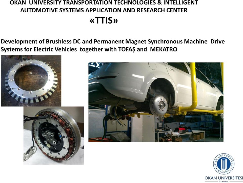 Development of Brushless DC and Permanent Magnet Synchronous