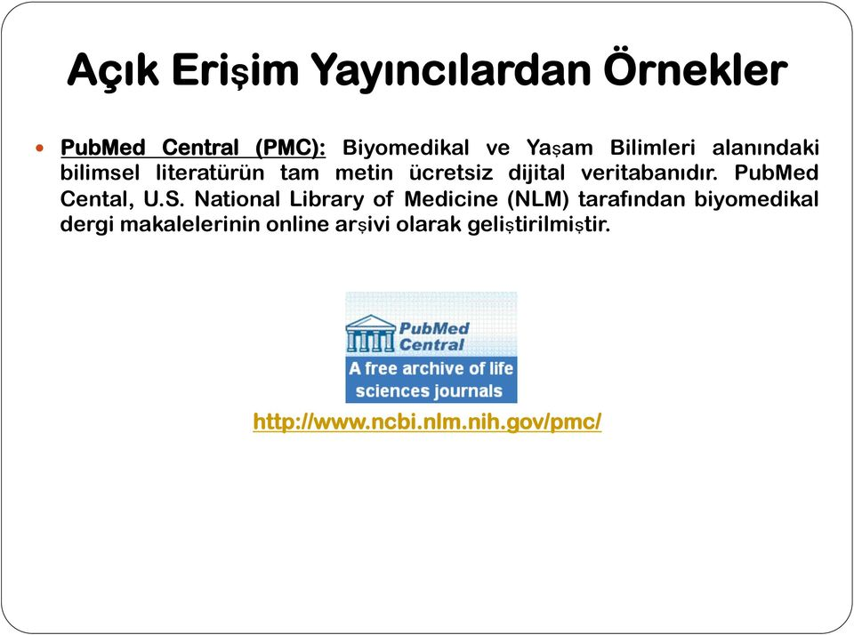 PubMed Cental, U.S.