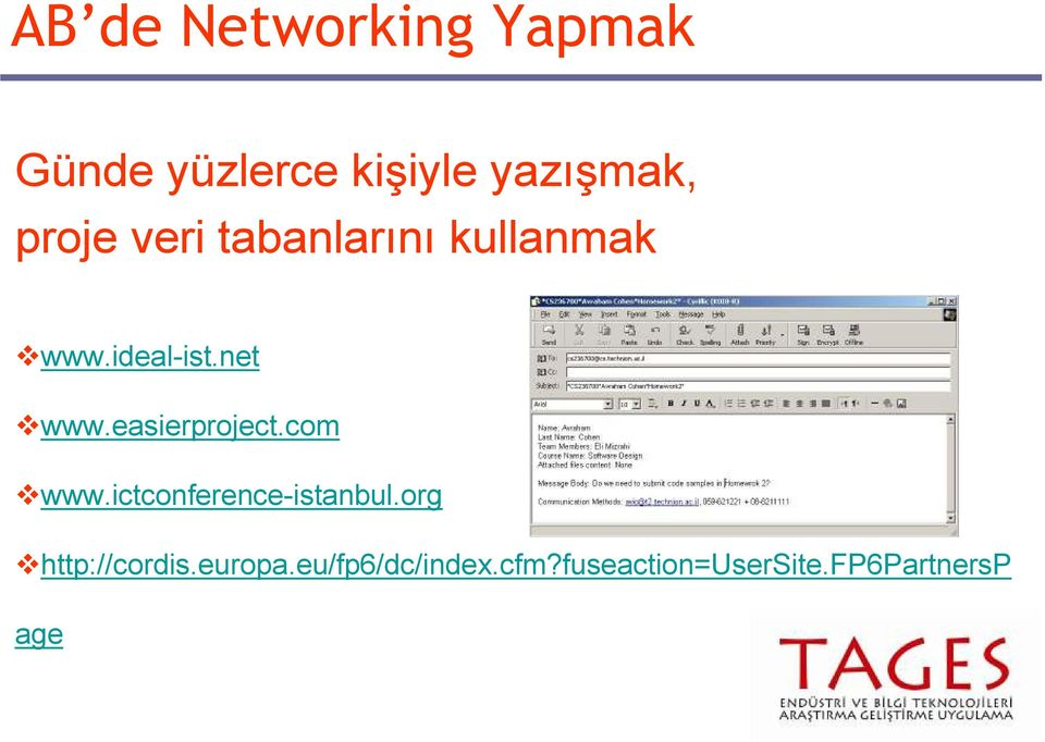 easierproject.com www.ictconference-istanbul.
