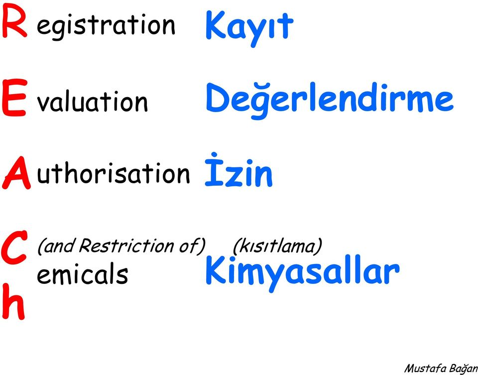 Authorisation İzin C h (and