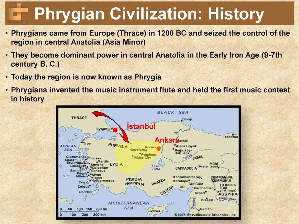 Anatolia in the Early Iron Age (9-7th century B. C.