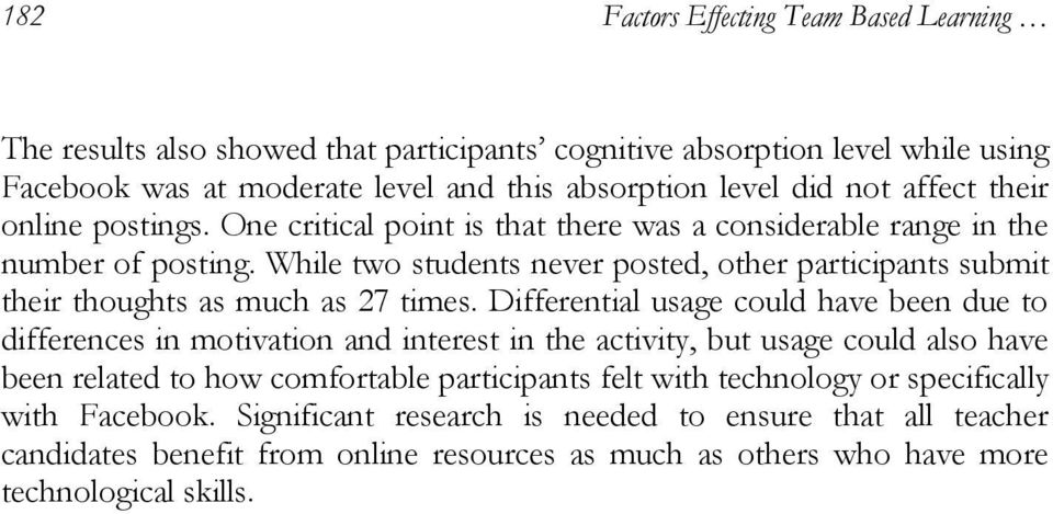 While two students never posted, other participants submit their thoughts as much as 27 times.