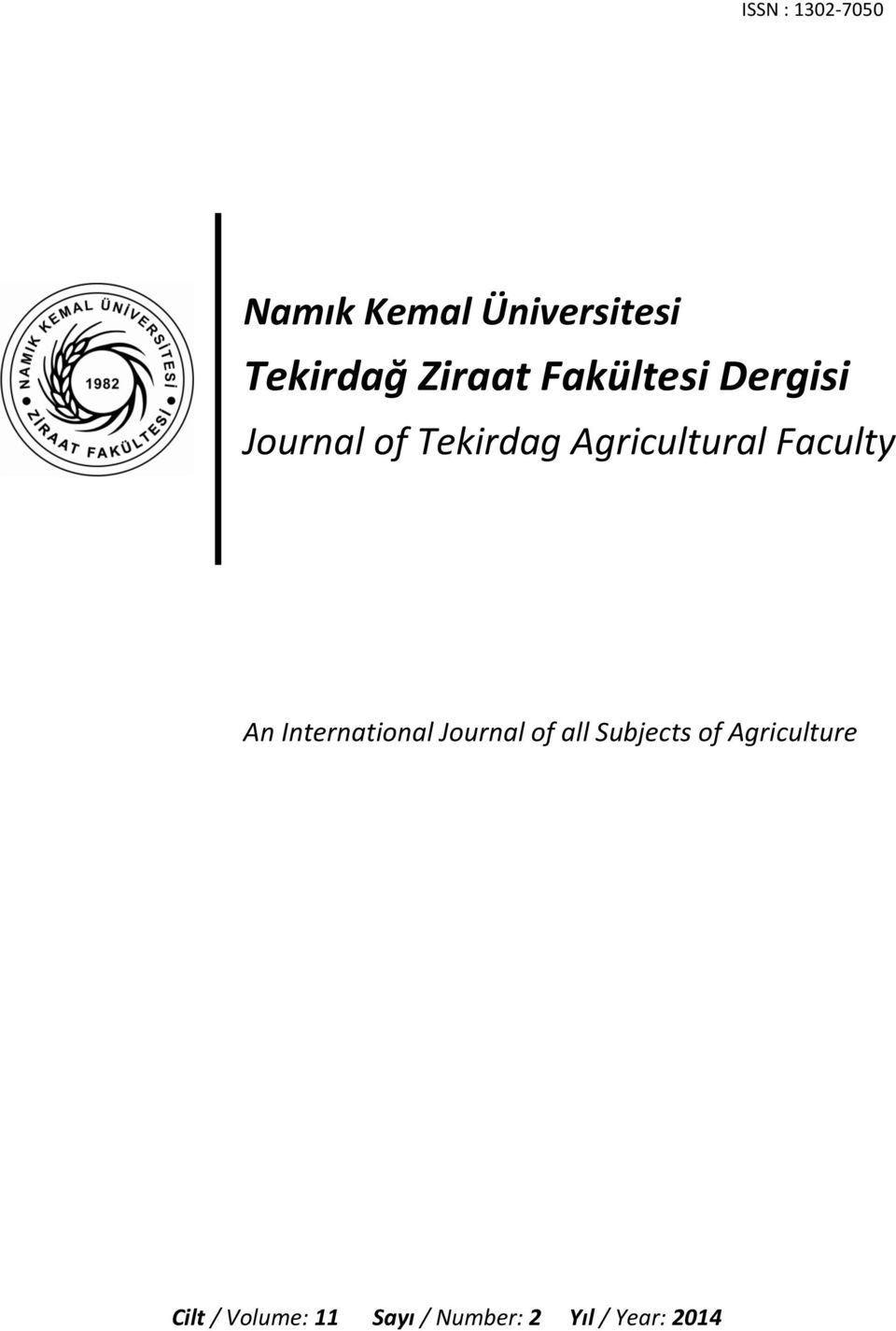 Journal(of(Tekirdag(Agricultural(Faculty( ( ( ( ( ( (