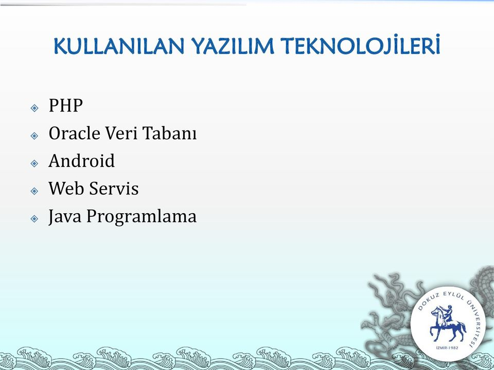 Oracle Veri Tabanı