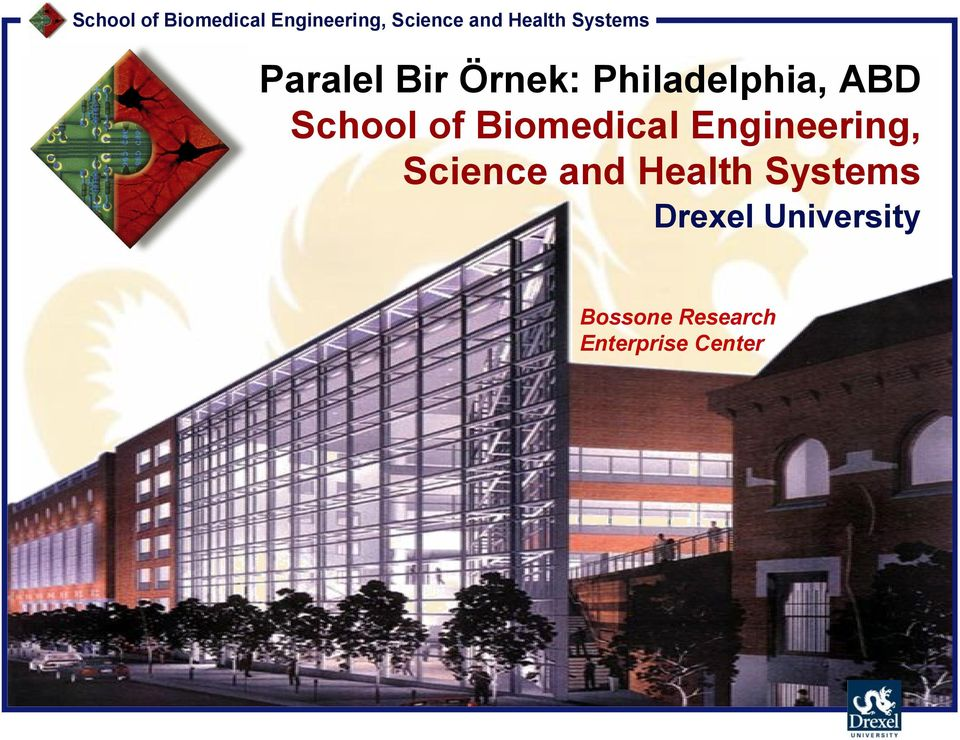 Systems Drexel University Bossone Research