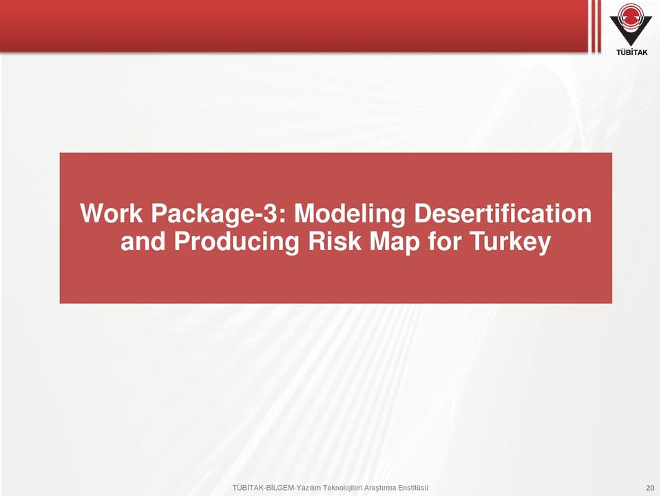 Risk Map for Turkey
