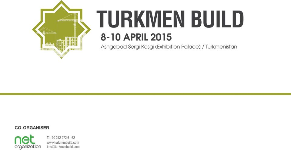 Palace) / Turkmenistan CO-ORGANISER