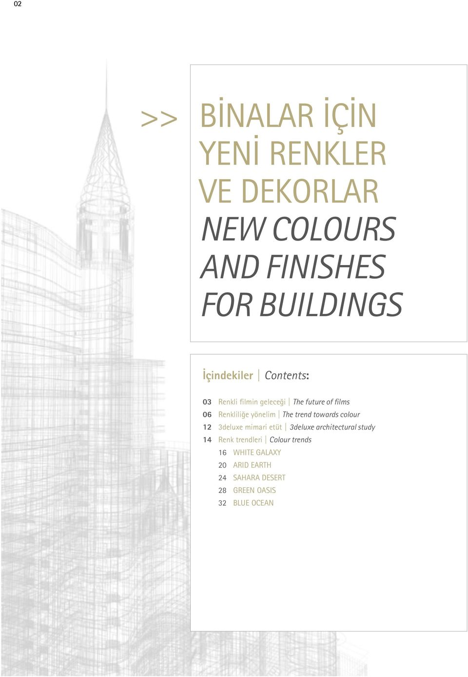 yönelim The trend towards colour 12 3deluxe mimari etüt 3deluxe architectural study 14