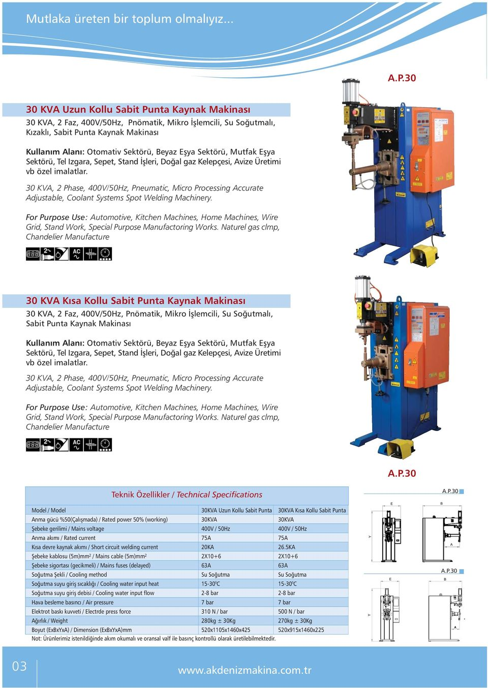 30 KVA, 2 Phase, 400V/50Hz, Pneumatic, Micro Processing Accurate Adjustable, Coolant Systems Spot Welding Machinery. Grid, Stand Work, Special Purpose Manufactoring Works.