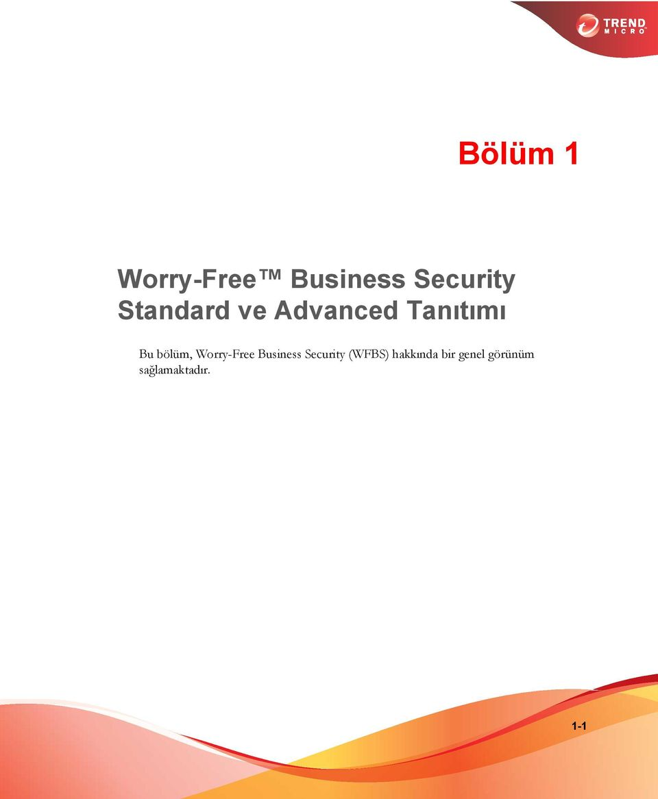 Worry-Free Business Security (WFBS)