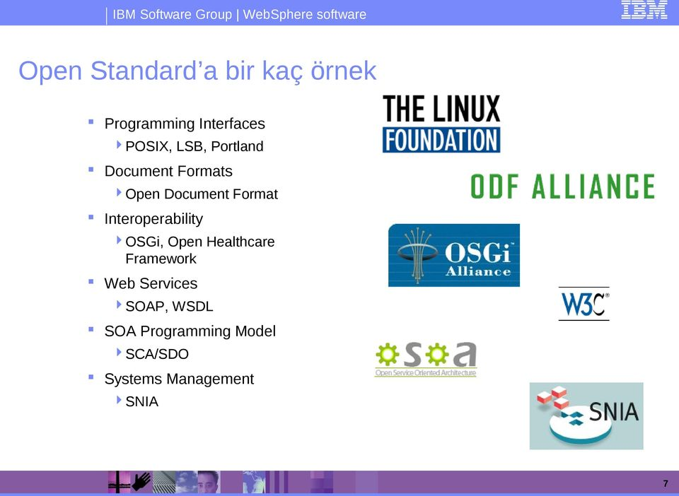 Interoperability OSGi, Open Healthcare Framework Web