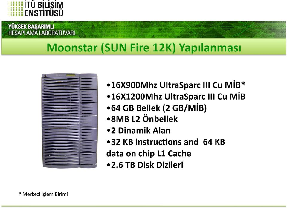 GB/MİB) 8MB L2 Önbellek 2 Dinamik Alan 32 KB instruc@ons and
