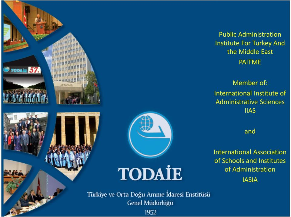 of Administrative Sciences IIAS and International