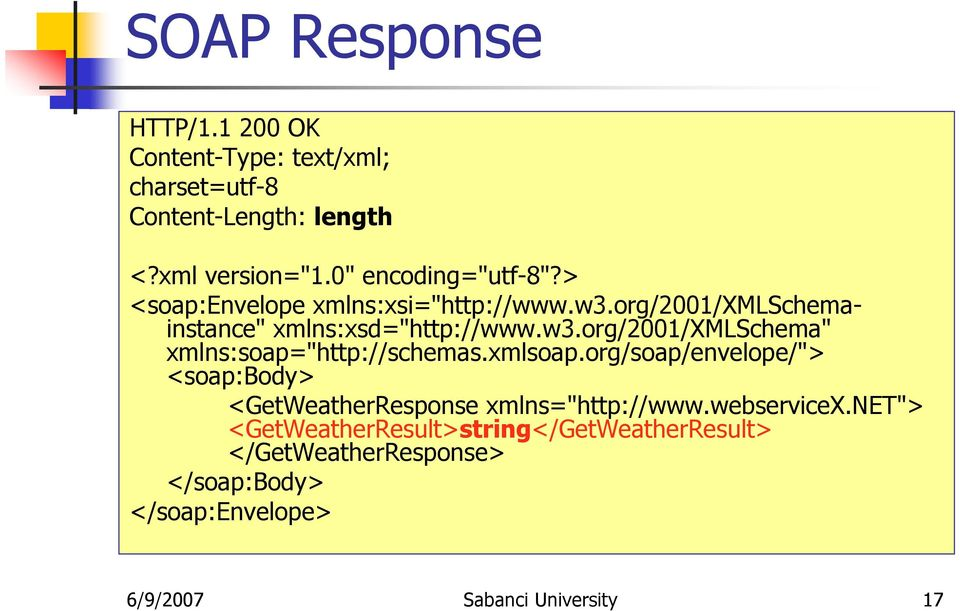"xmlsoap.org/soap/envelope/""> <soap:body> <GetWeatherResponse xmlns=""http://www.webservicex."