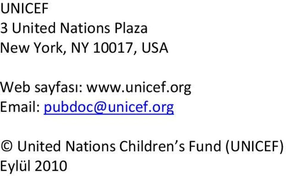 org Email: pubdoc@unicef.