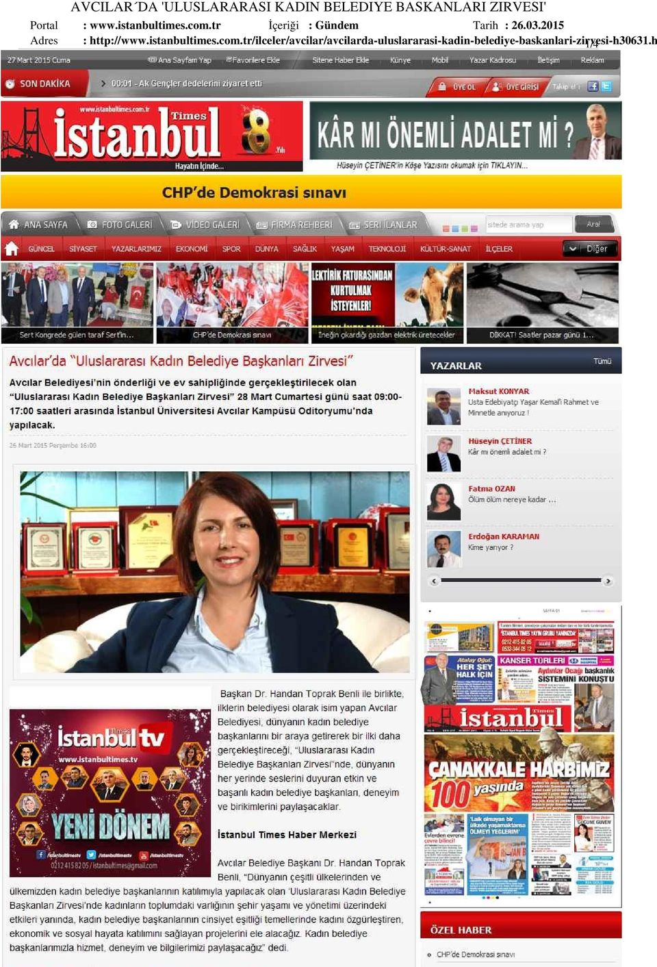03.2015 : http://www.istanbultimes.com.