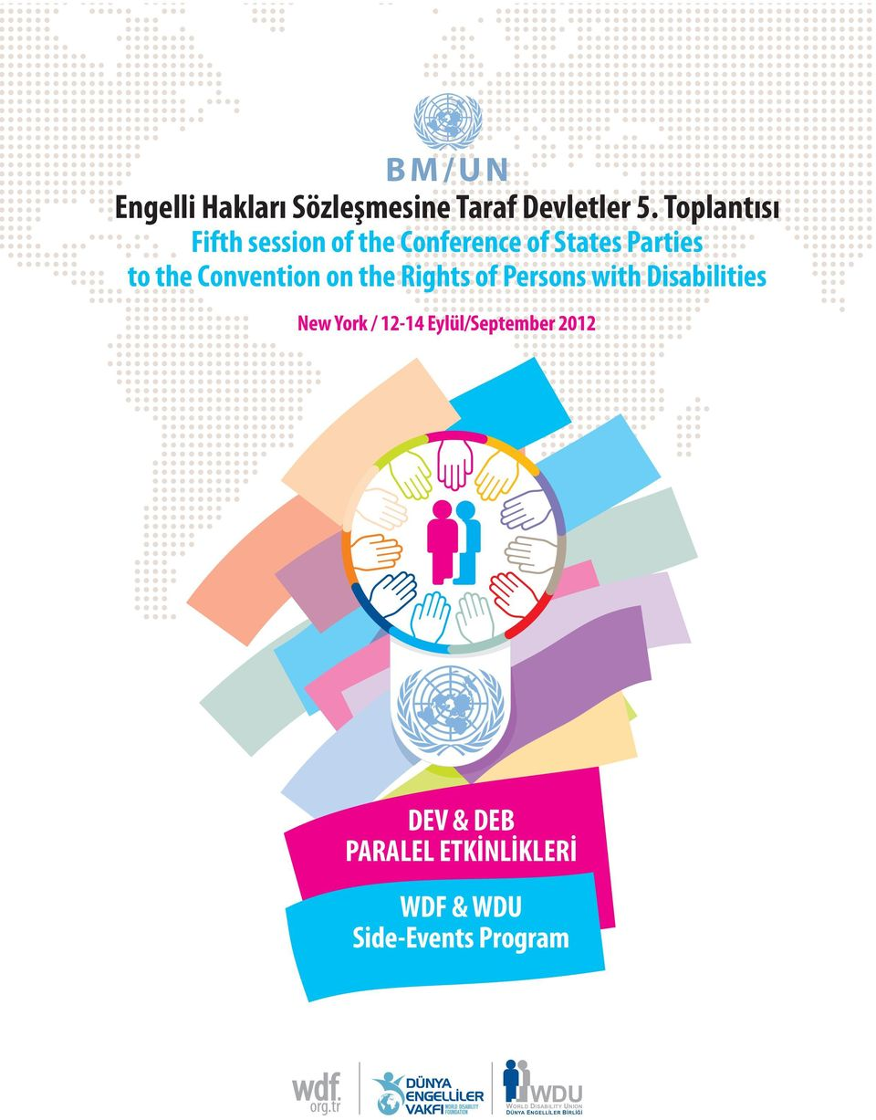 Convention on the Rights of Persons with Disabilities New York /
