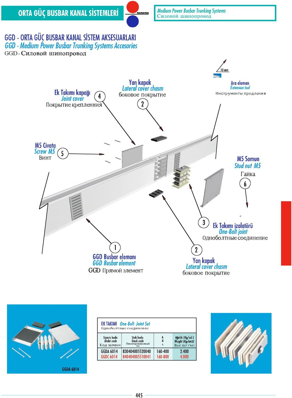 Trunking Systems Accesories A 6014 C 6014