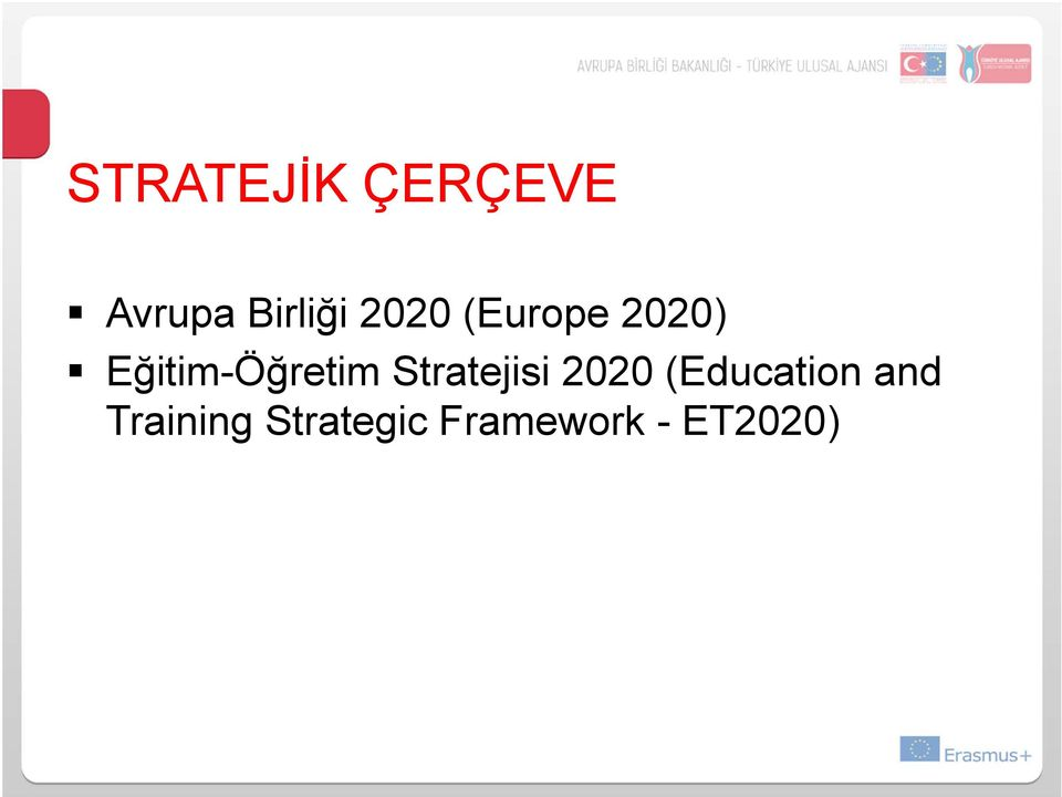 Stratejisi 2020 (Education and