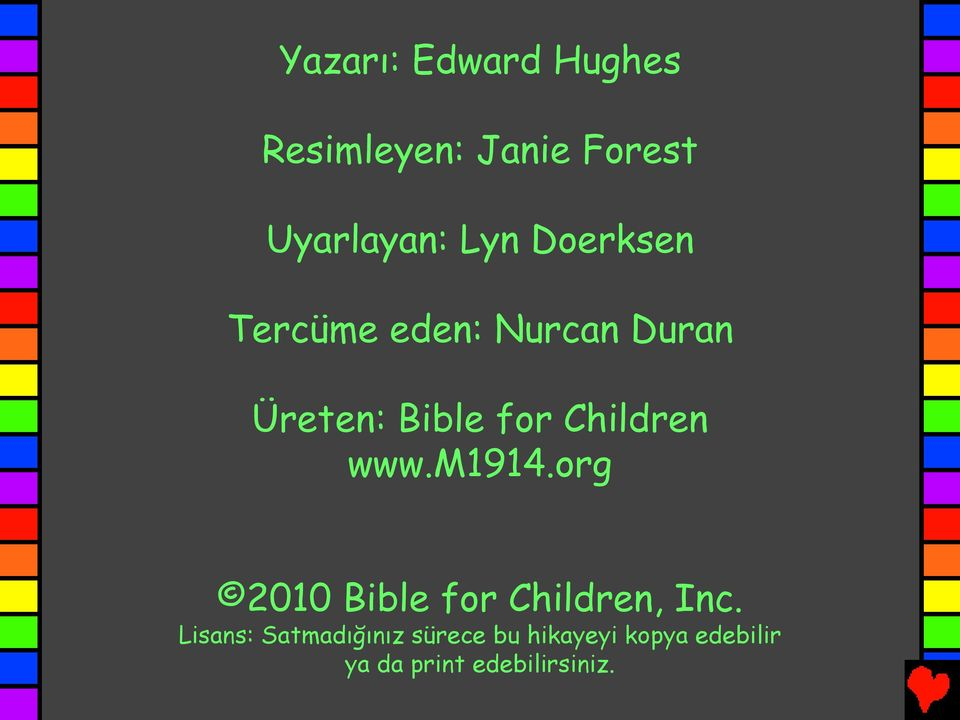 www.m1914.org 2010 Bible for Children, Inc.