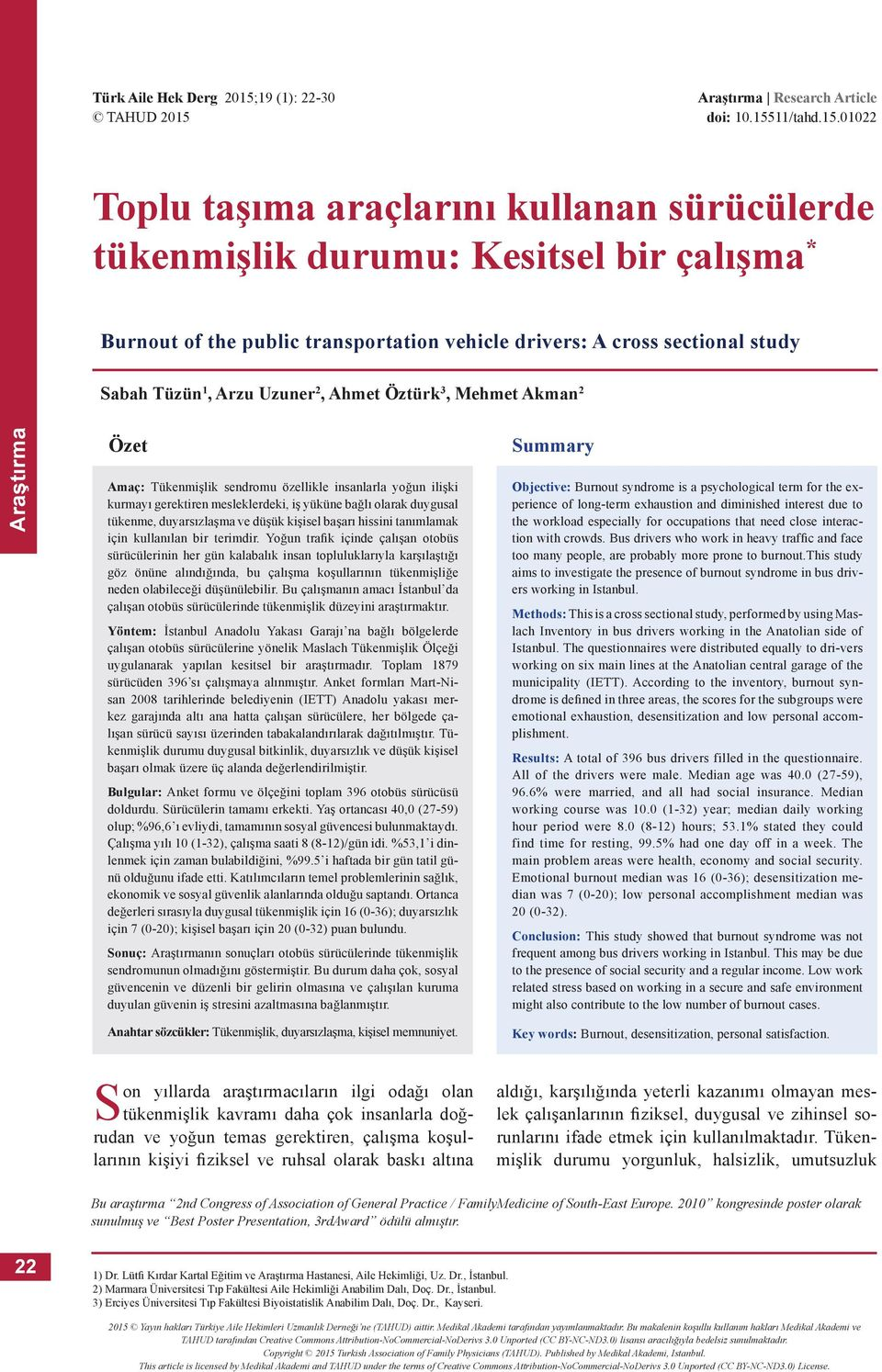 Araştırma Research Article doi: 10.155