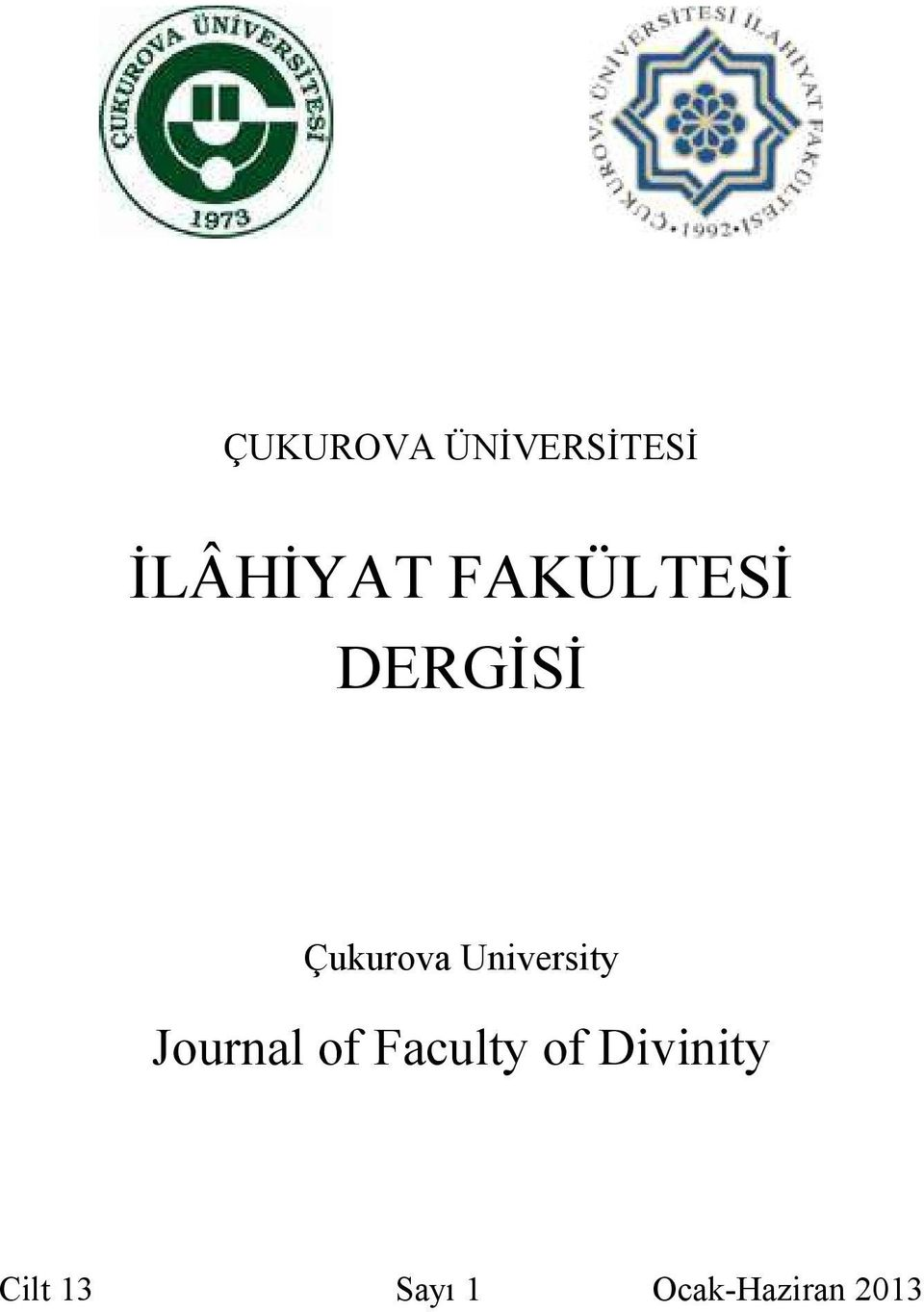 University Journal of Faculty of