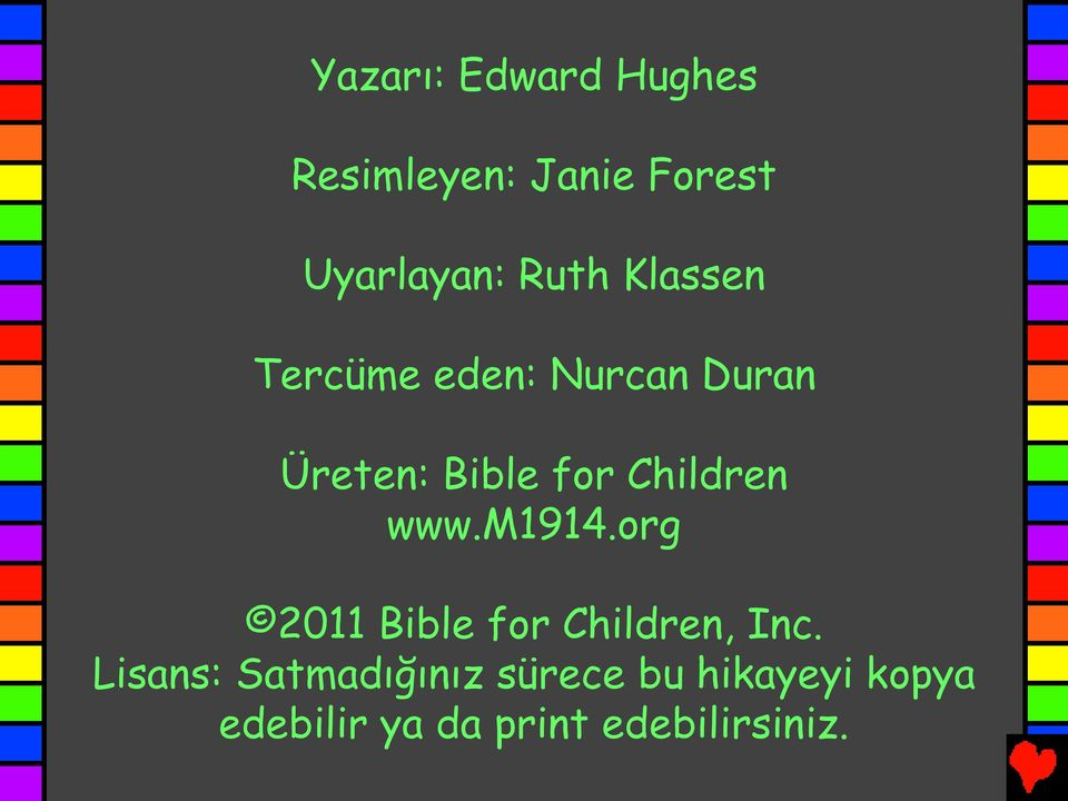 www.m1914.org 2011 Bible for Children, Inc.