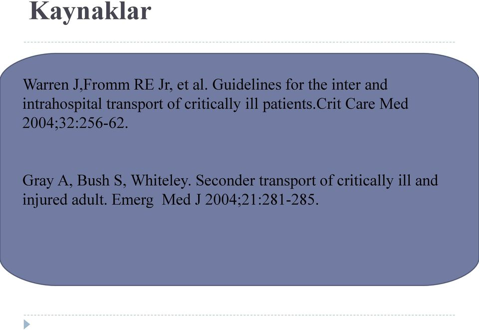 critically ill patients.crit Care Med 2004;32:256-62.