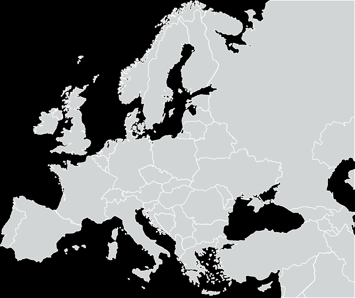 Paris London Munich Moscow Berlin Madrid Hamburg Brussels Milan Rome Frankfurt/M Stockholm Copenhagen Dusseldorf Helsinki Stuttgart Oslo Western Corridor Zurich Cologne Amsterdam Lyon Barcelona