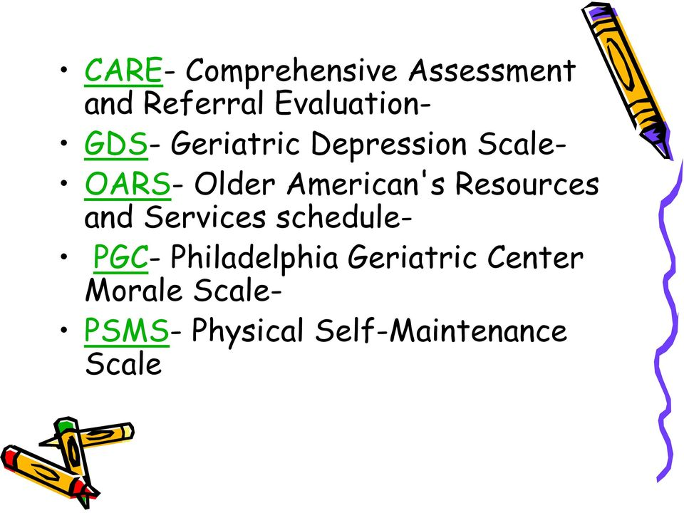 Resources and Services schedule- PGC- Philadelphia