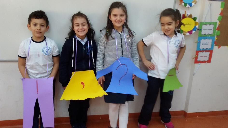 İNGİLİZCE Grade 1: How the World Works For the past six weeks our students learned about the four seasons and what you can wear in each season.