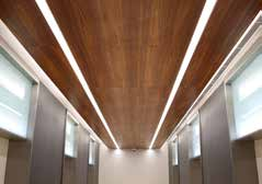 Lighting systems that are integrated with suspended ceiling panels introduces products that can be easily assembled and are plug-and-play.