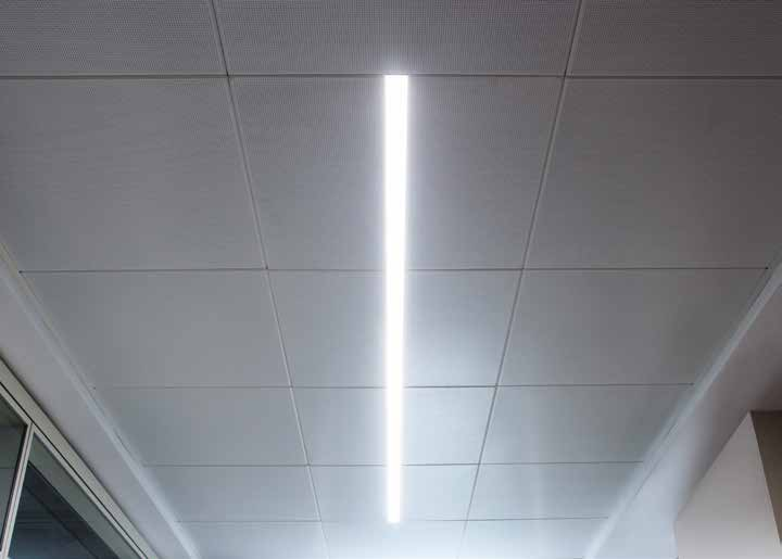 SPLIT LINE Split Line Clip in Plakalara Entegre Kesintisiz Armatür Continious Linear LED Lighting Integrated into Clip in Tiles