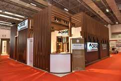 stand design, Emphasis on product's qualitative constituents in designing the stand, Use of depth and 3 dimensional aspects in the