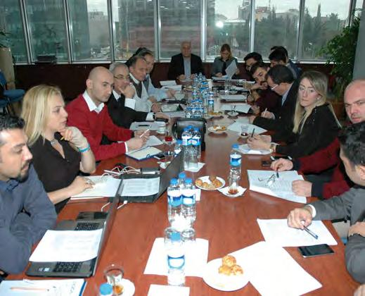 and Environment Health and Safety Committee of Turkish Ready Mixed Concrete Association (THBB) were held at THBB s head office in Istanbul on February 3, 2017.