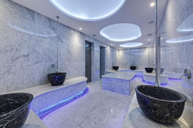 QUALIA SPA HAMAM VE BUHAR ODASI Buhar