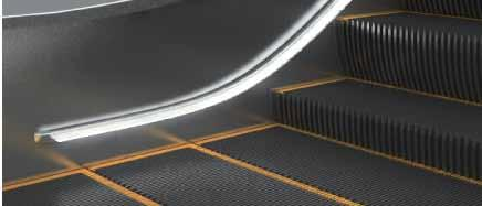 Escalators / Yürüyen merdivenler SAFETY The SRL range of escalators and moving walkways goes that one step further in terms