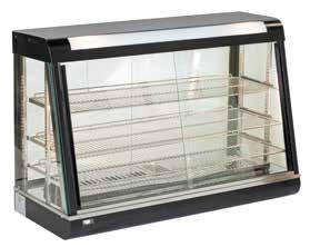 HOT - COLD & NEUTRAL DISPLAY UNITS R602 660x440x650 40 0,32 1840 230 V, 50 Hz 659 Grid Dimensions: 580x318/298/275 mm Interior lighting, thermostatic control Water pan for air