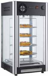 HOT - COLD & NEUTRAL DISPLAY UNITS SW1P 350x425x500 75 17 0,10 850 230 V, 50 Hz 458 Designed to keep the displayed foods warm. Made of toughen glass.