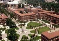 various service and faculty buildings with a total of 9 units in the
