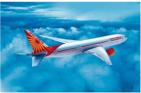 Air India logosunda maharaja kullanıyor.