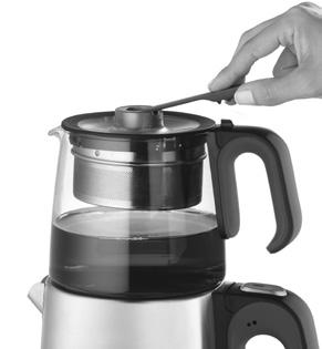 You can wash the steel teapot and filter of your Arzum Tea Maker in hand. NEVER wash the other parts by means of plunging them into water or in the dishwasher.